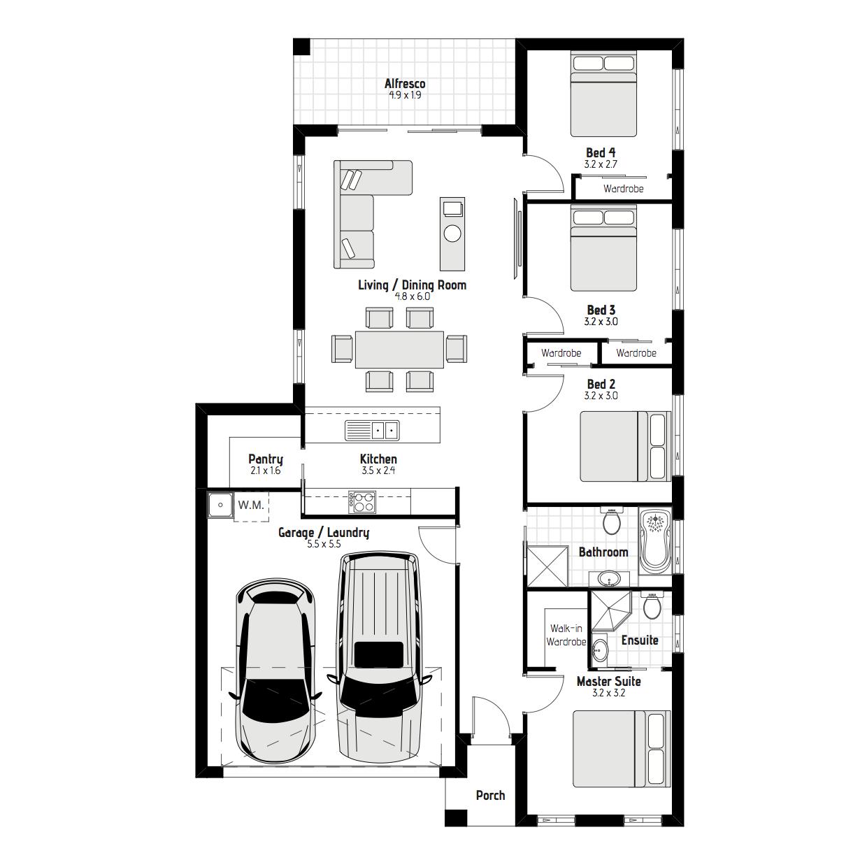 Banksia MKI Floorplan