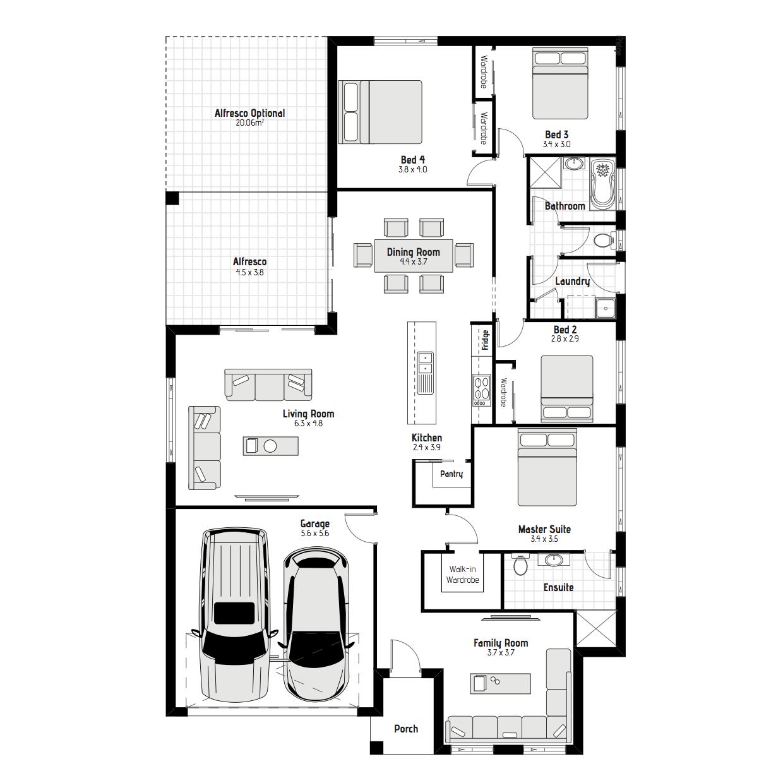 Olive MKI Floorplan