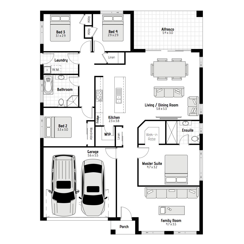 Olearia MKI Floorplan