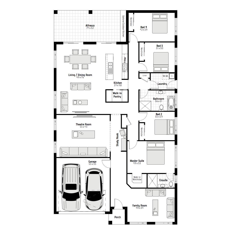 Lilly MKI Floorplan