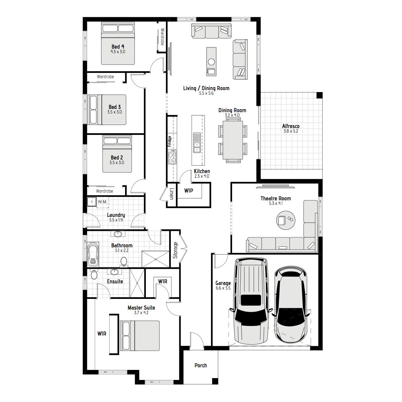 Fern MKII Floorplans
