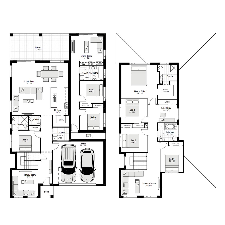 Dual MKI Floorplan