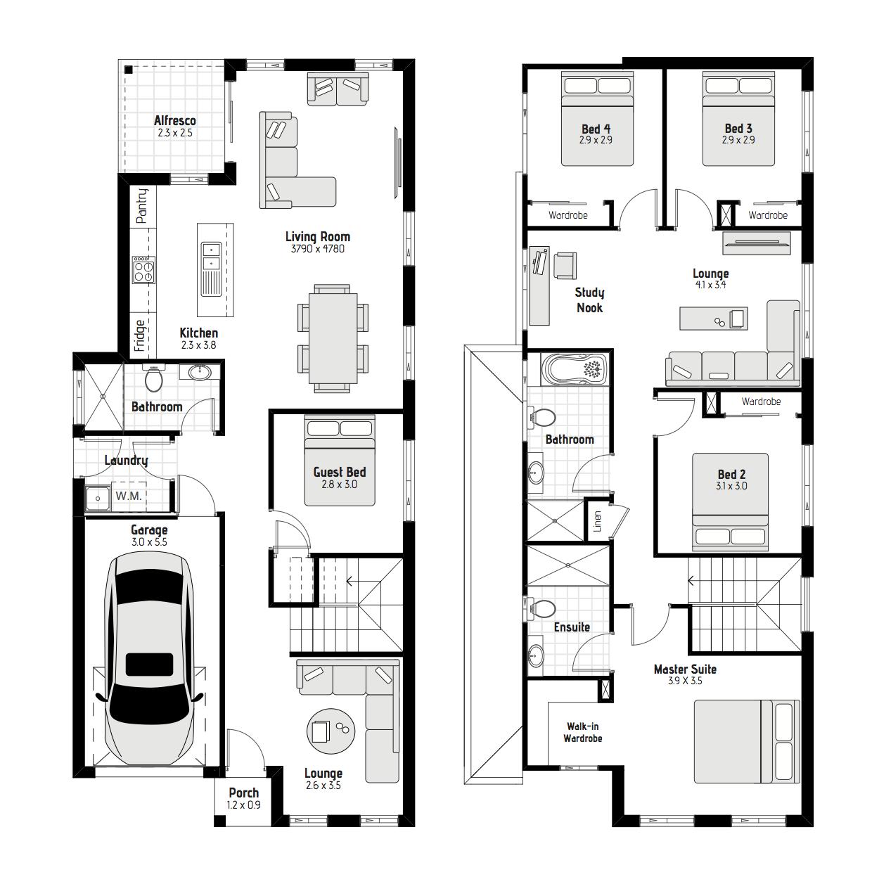 Mackay MKII Floorplan
