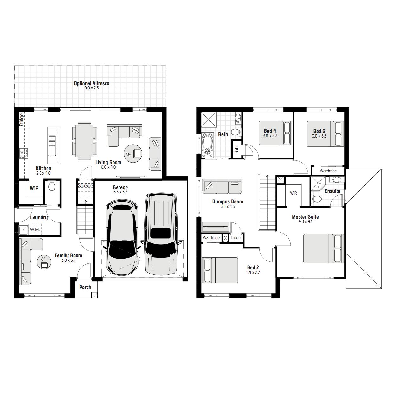Murray MKI Floorplan