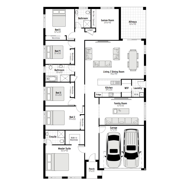 Boronia MKI Floorplan