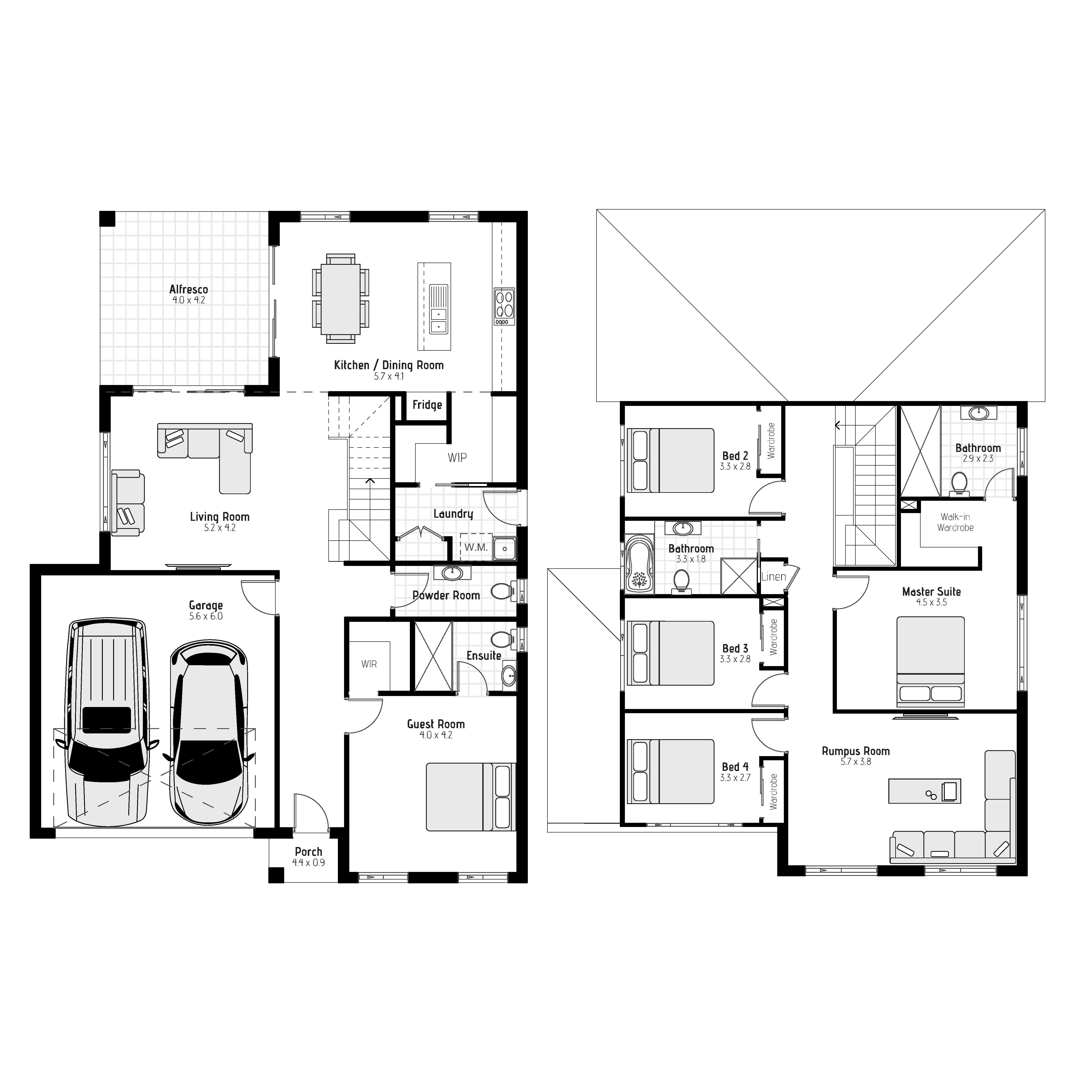 Avon MKI Floorplan