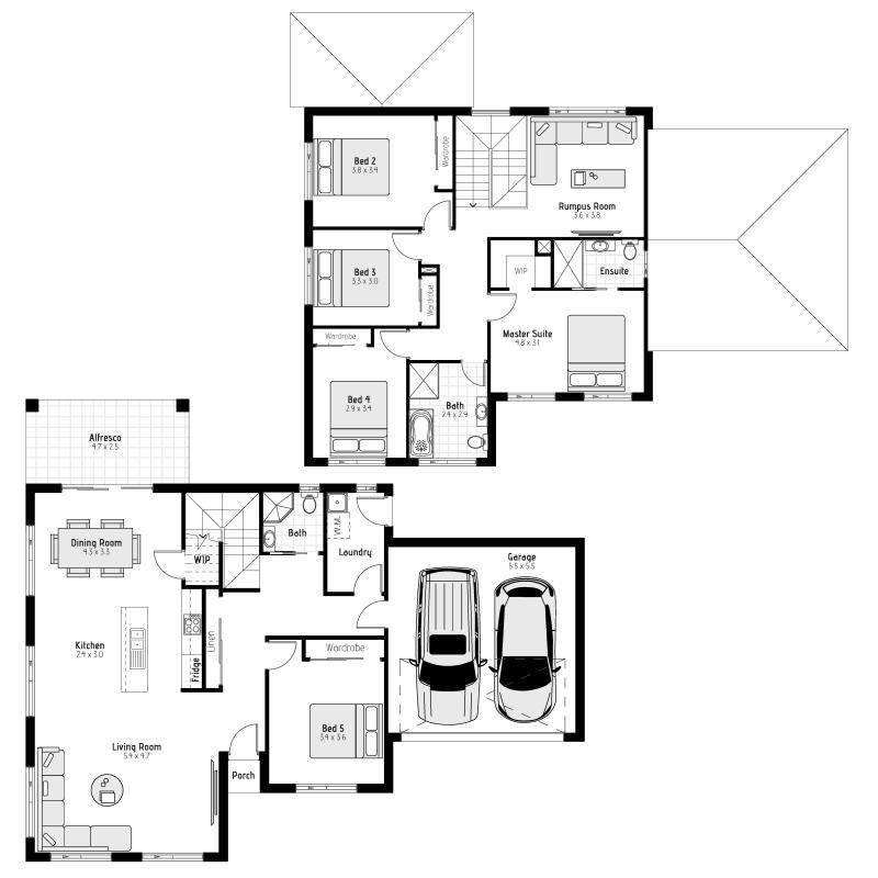 Macquarie MKI Floorplan