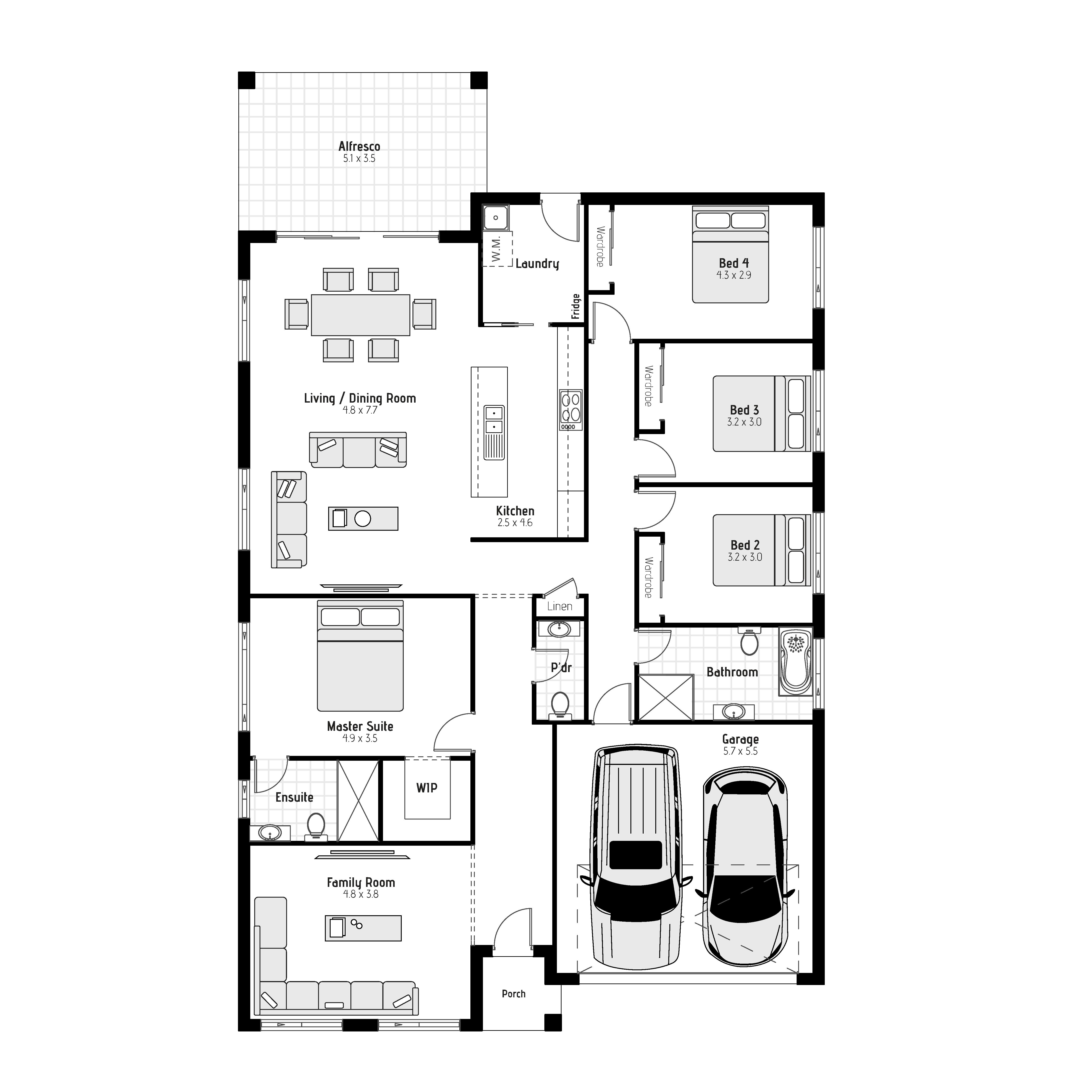 Oran MKII Floorplan