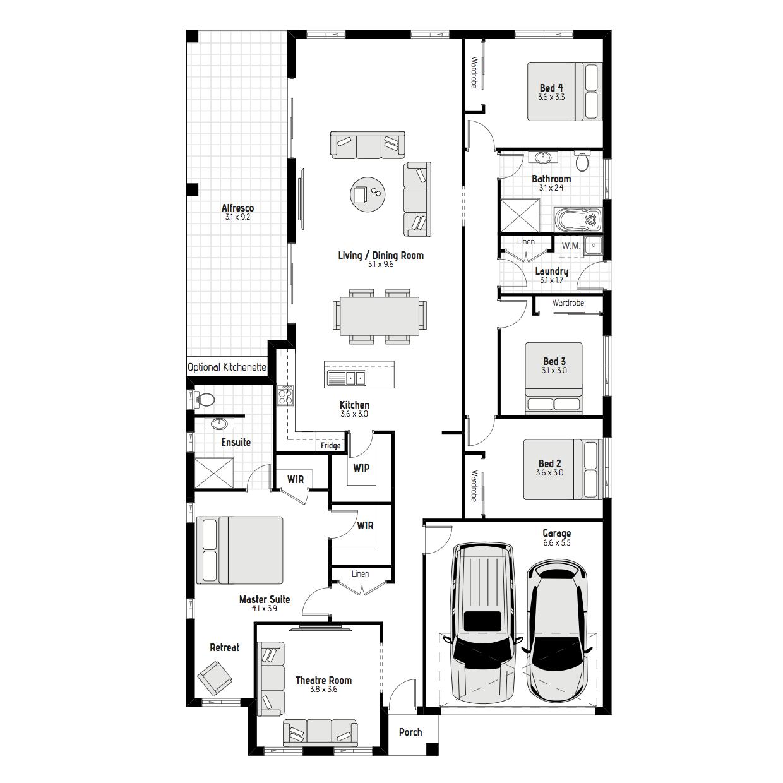Camelia MKI Floorplan