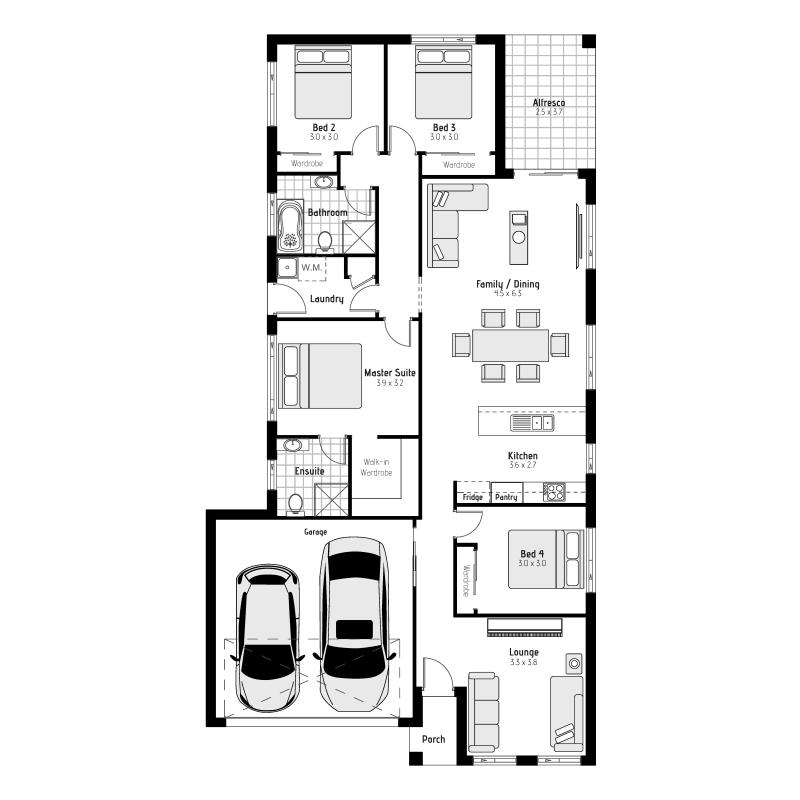 Acacia MKII Floorplans