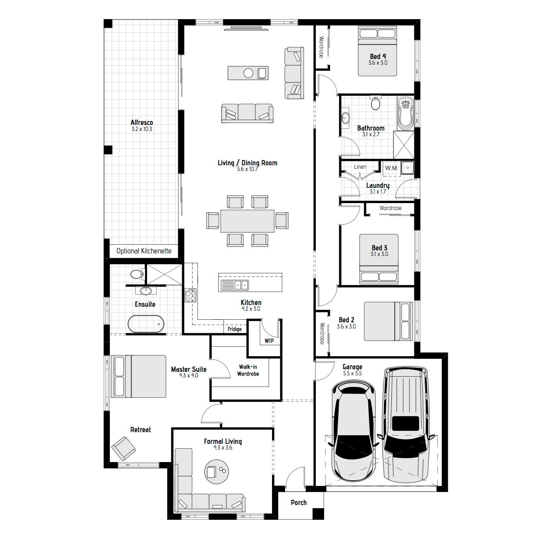 Camelia MKII Floorplans