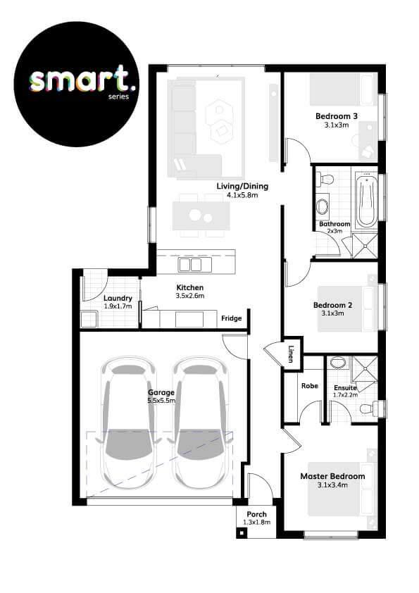 York 15 – Smart Series Floorplans
